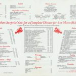Menu from The Original Coppola's Restaurant