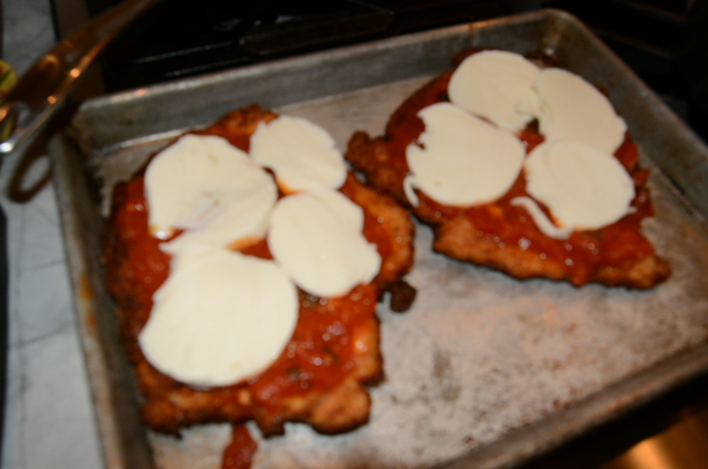 chicken with mozzarella