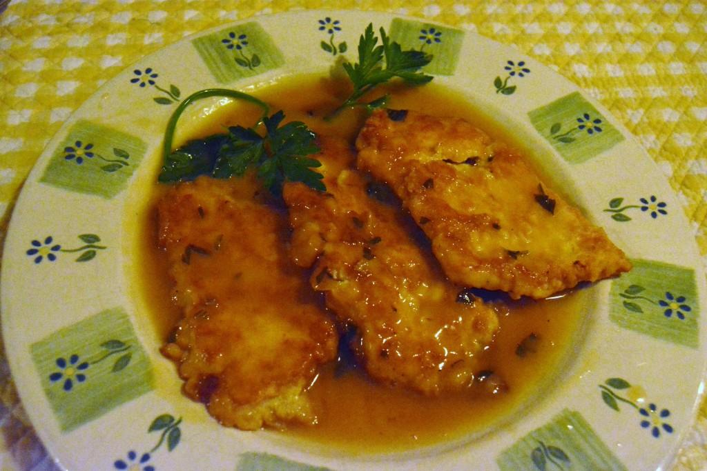 finished frances dish