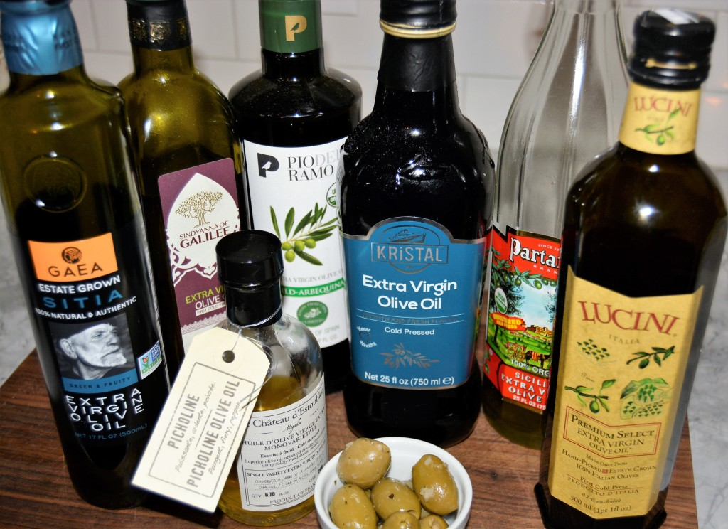 Olive oils from around the world