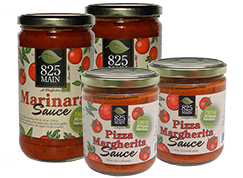 825 Marinara and Pizza Sauces