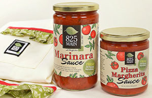 825 Main Tomato Sauce made with all natural ingredients